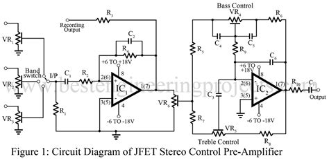 Jfet Amp Based Stereo Control Preamp Engineering Projects
