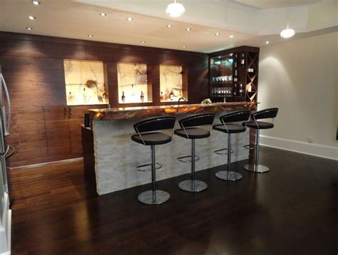 Contemporary Bar Ideas by 55 Magnificent Basement Bar Ideas For Home Escaping And