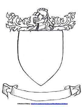 coat  arms template cutlersclass