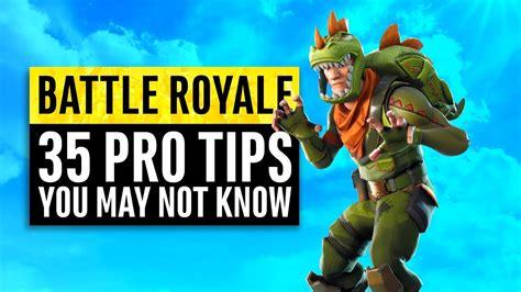 fortnite battle royale  tips  tricks