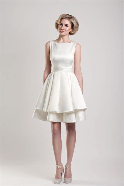 excellent simple short wedding dresses dresscab