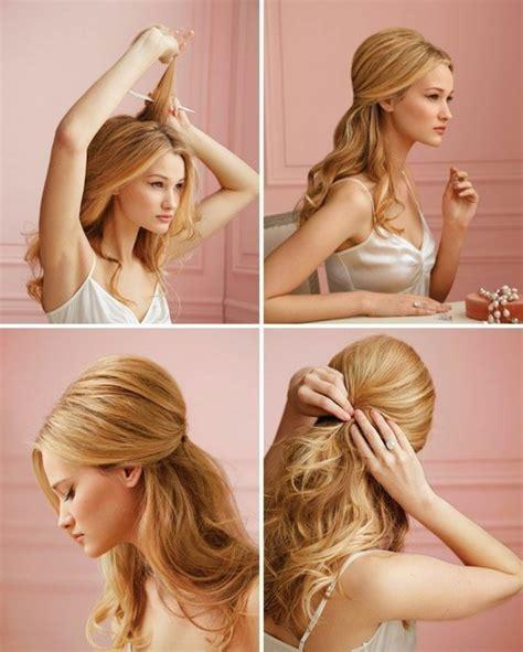 schöne frisuren selber machen abendfrisuren selber machen 46 tipps und tricks