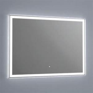miroir miroir lumineux With miroir salle de bain lumineux led