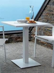Table Metal Exterieur : maiorca pour bars et restaurants table en m tal pour l ~ Teatrodelosmanantiales.com Idées de Décoration