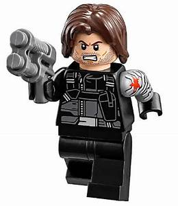 NEW LEGO WINTER SOLDIER MINIFIG 76051 marvel figure ...