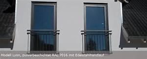 ein franzosischer balkon nach kundenwunsch With französischer balkon mit gartenzaun metall günstig kaufen