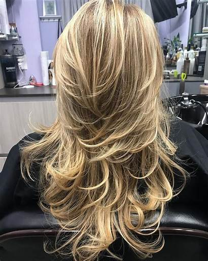 Layered Hair Haircuts Feathered Hairstyles Haircut Styles