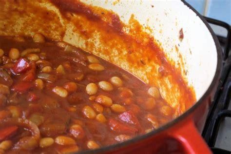 cuisiner des haricots blancs secs recette de haricots blancs à la catalane