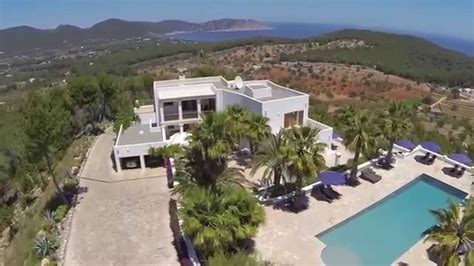 Views Of Mountains And The Sea Make This South Home Truly Stunning by Exclusive Mansion On A Mountain On Ibiza With