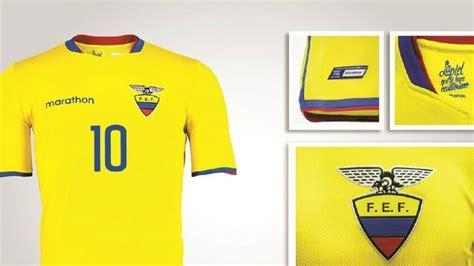Ecuador dio a conocer su camiseta oficial para la Copa