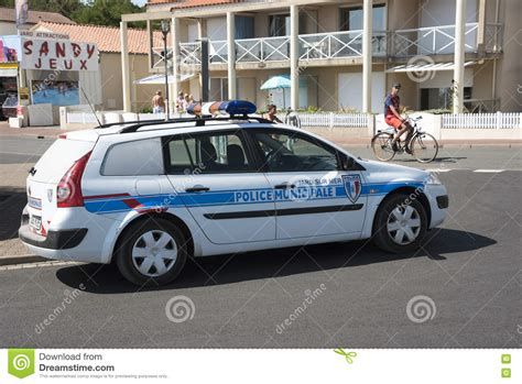 French Police Car Editorial Image