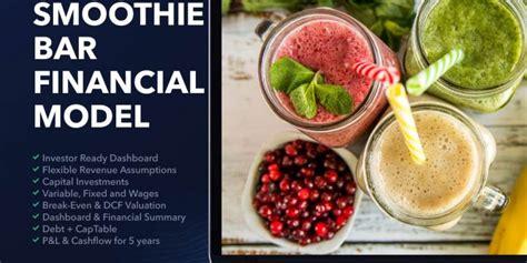 juice bar business plan financial model efinancialmodels
