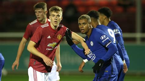 Match report on Man Utd v Chelsea FA Youth Cup semi final ...