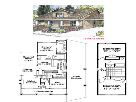 2 craftsman house plans bungalow house floor plans 1929 craftsman bungalow floor
