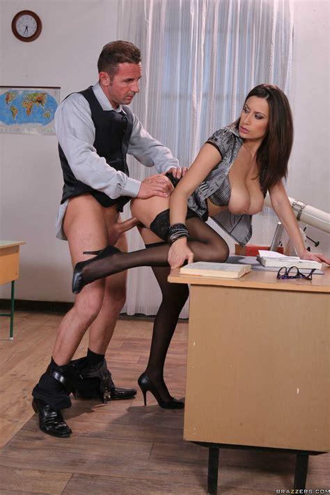 Sexy Secretary Is Often Satisfying Her Boss Photos
