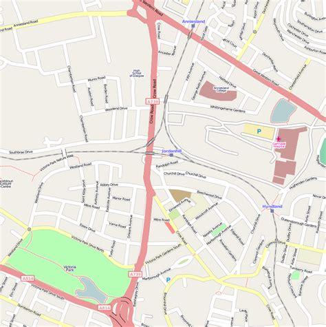 file jordanhill station open street maps png wikimedia