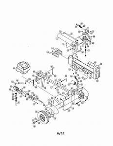 Mtd 24bf570f299 Log Splitter Parts