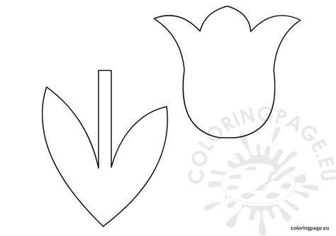 tulip template the gallery for gt simple tulip stencil