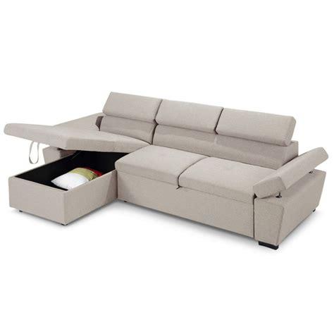 canapé d angle beige canapé d 39 angle convertible avec coffre de rangement tissu