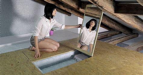 suspended shelf ideas space saving modern loft
