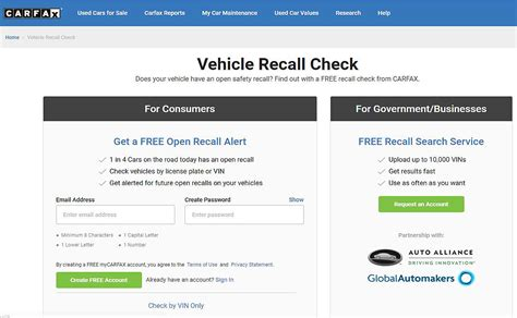 Recall On Vin Number by Free Carfax Report Using Vin Best Cars Modified Dur A Flex