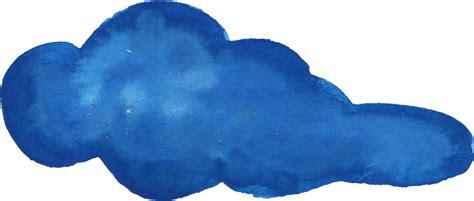 15 Watercolor Clouds (PNG Transparent) Vol. 3 | OnlyGFX.com