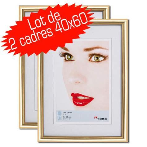 cadre pour photo 30x45 walther galeria cadre resine 40x60 dore