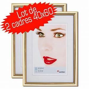 Cadre 40 60 : walther galeria cadre resine 40x60 dore ~ Teatrodelosmanantiales.com Idées de Décoration