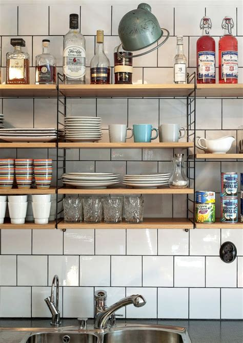 mensole scaffali le 10 migliori idee su mensole cucina su
