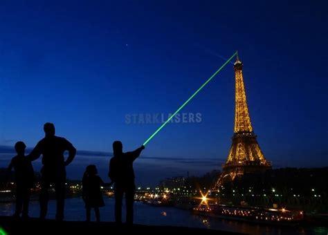 Mächtige Grüne 1000mw Laserpointer Mit Aufsatz Sterne
