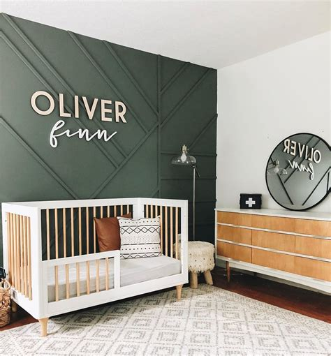 Nursery designs for boys inspire creativity and a sense of adventure on the water, in the mountains, or on a safari. Millwork, Trim, Molding, Wall Paneling, and more! in 2020 | Baby room design, Baby room decor ...