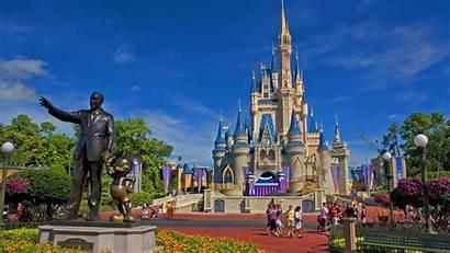 Disney Walt Wallpapers Desktop Castle Background Disneyworld