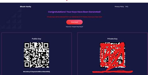 Enter your bitcoin wallet address bellow. Generate 7 Character Vanity Address For Free - Bitcoinik