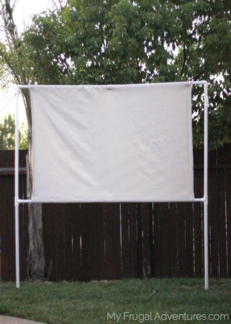 build  outdoor  screen  frugal adventures