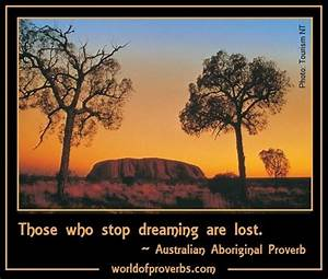 World of Prover... Australia Positive Quotes