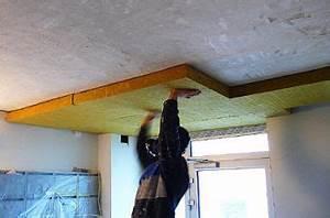 Zateplení sklepního stropu