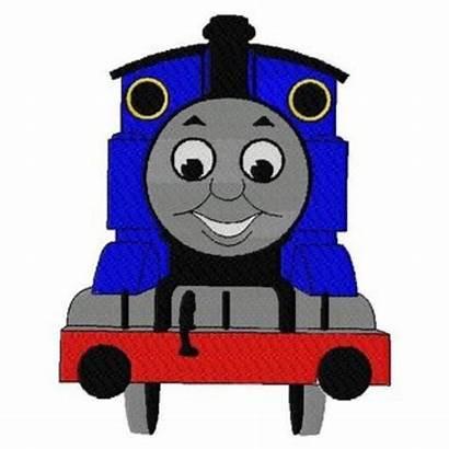 Thomas Train Engine Tank Embroidery Clip Cartoon