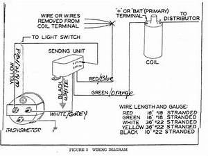 Stewart Warner Diesel Tachometer Wiring Diagrams