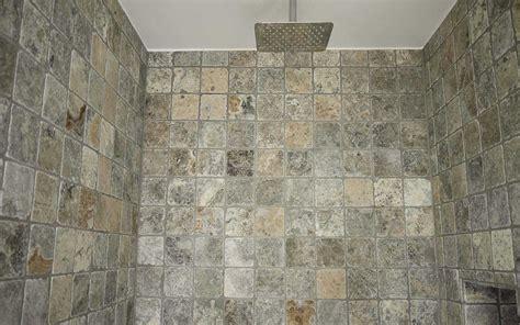 Naturstein Mosaik Dusche mosaik fliesen travertin silber grau 10x10 kaufen