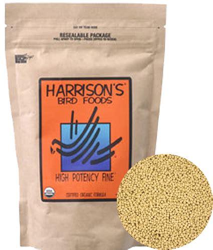 harrison s high potency fine harrison s bird food parrotco