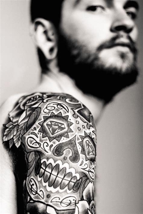 Tete De Mort Mexicaine Tatouage 1001 Id 233 Es Tatouage T 234 Te De Mort Mexicaine Qui Vivra Calavera