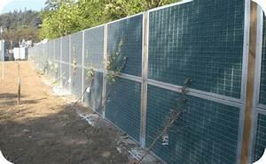 Mur Végétal Anti Bruit : lc 39 clos tout pour la cl ture vaucluse murs anti bruit ~ Premium-room.com Idées de Décoration