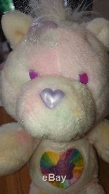 ultra rare vintage noble heart horse  plush care bear