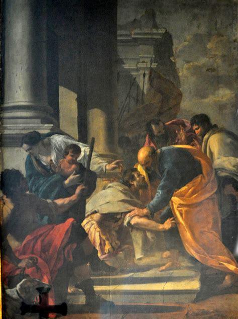 le centurion corneille aux pieds de saint pierre notre