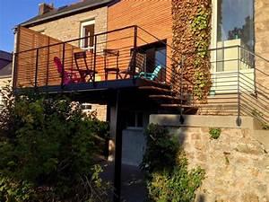 Terrasse Metallique Suspendue : am nagement ext rieur ~ Dallasstarsshop.com Idées de Décoration