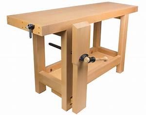 Construire Un établi En Bois : etabli en h tre massif quip d une presse de menuisier ~ Premium-room.com Idées de Décoration