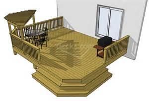 Pictures X Deck Plans by Decks Free Plans