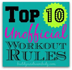 Top 10 Workout Rules + Breakfast + Butterflies