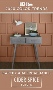 The BEHR® 2020 Color Trends Palette is here to help you ...