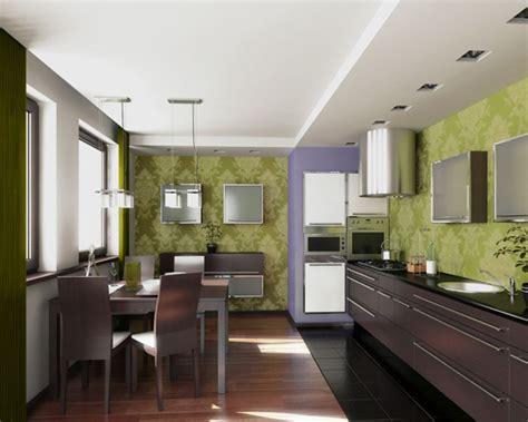 green wallpaper for kitchen фисташковый цвет в интерьере фото 4046